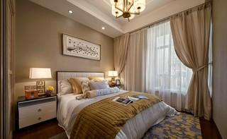 奢华新中式风格卧室装修设计图