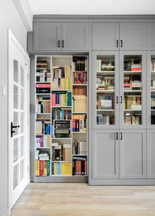 复式北欧风格家书柜图片
