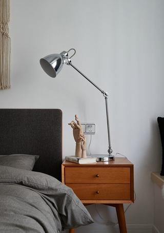 北欧风二居卧室床头柜设计图