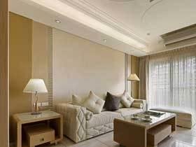 温馨舒适 92平轻古典欧式三居