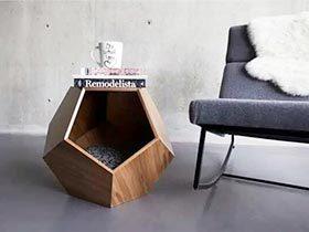 家里一定要有个迷你桌 12个矮桌家具设计