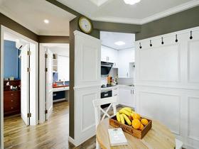 50平规划出两室 10万打造美式风格装修