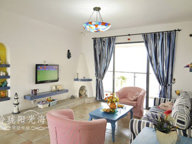 65平一居室公寓装修效果图 现代流行风