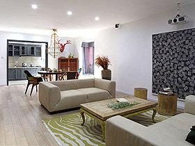三米设计作品 170平简约混搭风度假居