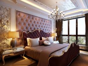 体味简单温馨 15个欧式卧室背景墙图片