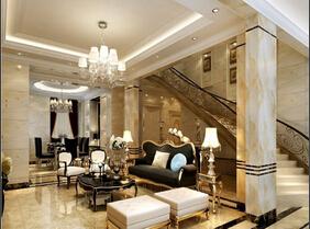 欧式风格大户型装修 豪华的空间极致享受
