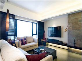 20万简约风格三居室装修 效果出人意料