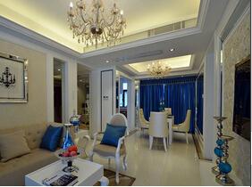 欧式风格两室两厅装修效果图 有品位的设计