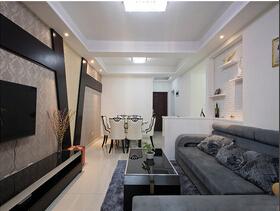 10万装简约风格三居室装修图 低调的美感