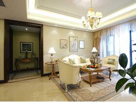 15万装欧式风格三居室装修 典雅气质空间