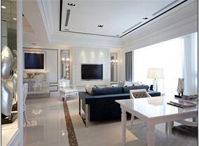 欧式风格三室二厅装修图 优雅贵族气质