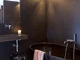 美丽私人空间  10款卫生间花砖布置图