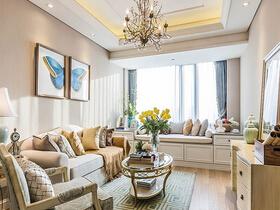 90平欧式风格两室两厅装修 轻盈唯美空间