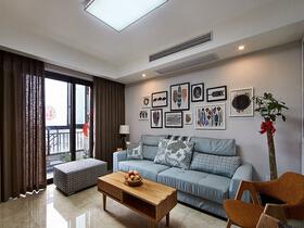 89平三居室装修20万全包  真正的品质设计