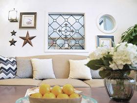 我们温暖如梦的家 110平美式田园风格装修