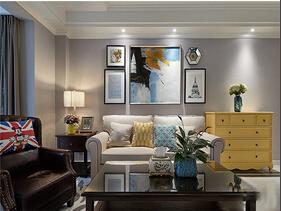 130平美式风格装修 有格调的空间
