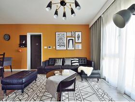 20万半包三居室装修 美妙的家居空间