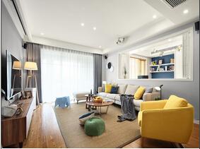 130平北欧风格装修 自然气息浓厚的家