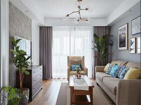 20万全包90平三居室 北欧风格装修