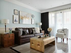 120平两居室复古装修 历久弥新的空间感