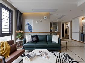 120平复式房装修 混搭风格设计