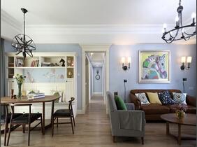 130平三居室装修 幸福的家盛满爱