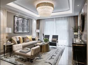 精致空间  120平三居室样板房装修