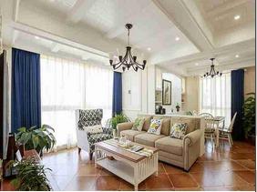 120平三居室装修 美式风格装修