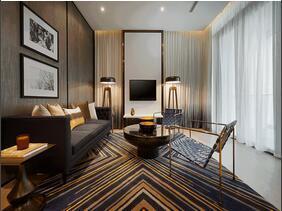 120平金属质感三居室 低调的奢华