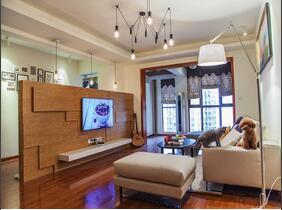 120平三居室装修 时尚空间谁都爱
