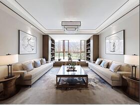 150平新中式风格装修 诠释家居新理念