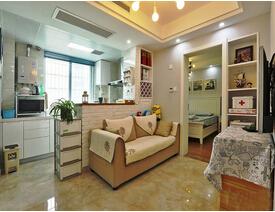 60平超小空间 巧妙打造出三居室