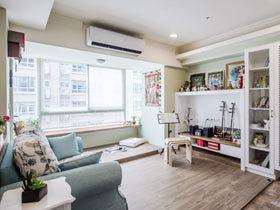 60平米文艺开放式二居设计  让空间更舒适