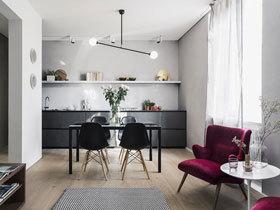 58平时尚小公寓装修 整个家就花了8万