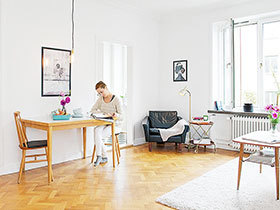 小空间更要营造宽敞感 50平小户型很有大户型的感觉