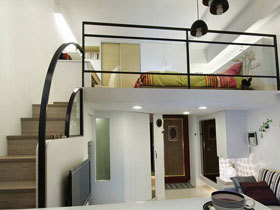 二手房翻新 33平一居室装修 现代简约风格