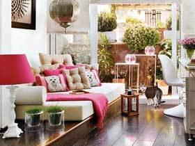 温暖舒适的二居室装修 15万装95平现代小复式