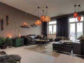 160平米的低调奢华 迷人的新古典风格公寓