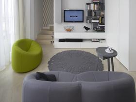 简约风格典雅浪漫 60平米小户型装修复式公寓
