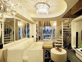 单身贵族一居室装修 梦幻清新loft