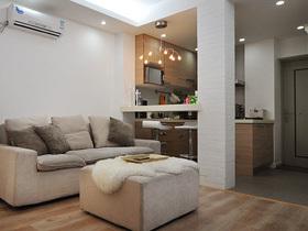 42平老房变身 一居室放大设计