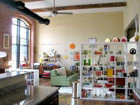 收藏控的各式创意摆设 欧式街头风情公寓
