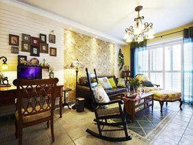 唯美两居室公寓 东南亚风格花式风情