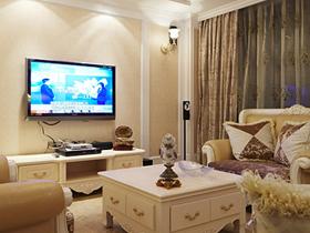 欧式优雅风情 归国华侨打造140平四房奢华家