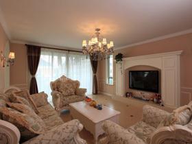 Letty的欧式风格法式温馨之家 130平三室两厅