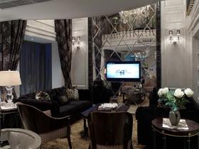 新古典主义风格二居室 精致巧克力色奢华装