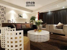 森系园林公寓 280平简约风格装修
