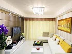 90平都市现代风格 两居室用来盛放你的幸福