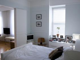空间巧利用 情侣一居室简约风格装修 变家成宝