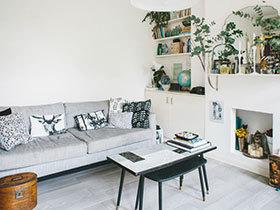 清新淡雅北欧风 60平米公寓让你专注自己的内心
